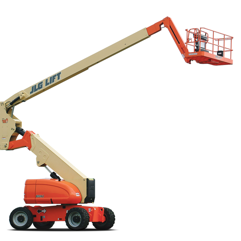 Engine powered aerial lifts